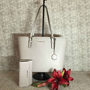 Michael Kors Tote & Matching Wallet
